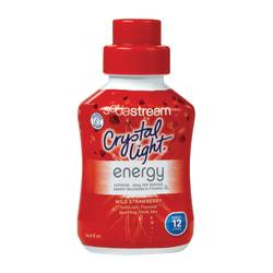 SodaStream(TM) Crystal Light Drink Mix, Wild Strawberry Energy Drink, 16.9 Oz