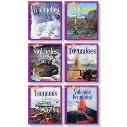 Scholastic Children's Press True Book Extreme Earth Book Set, Grades 3 - 5, Set Of 6 Books