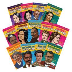 Gallopade Biography FunBooks Set, Woman And Minorities, Grade 1 - 5, Set Of 13 Books