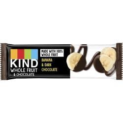 KIND Pressed Dark Chocolate Fruit Bars - Gluten-free, Individually Wrapped, Trans Fat Free, Low Sodium, Low Fat - Dark Chocolate, Banana - 1.34 oz - 12 / Box