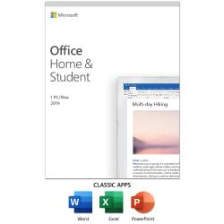 Office Home And Student 2019, For 1 Device, For PC/Mac, Product Key Card