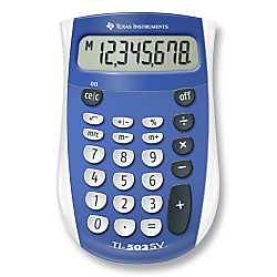 Texas Instruments(R) TI-503SV Display Calculator