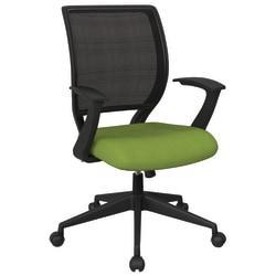 Office Star (TM) Work Smart Mesh Task Chair, Green/Black