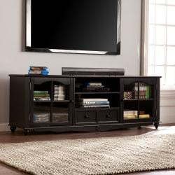 Southern Enterprises Coventry Console For Flat-Panel TVs Up To 67in., Antique Black