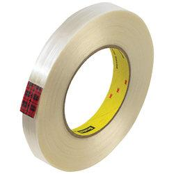 Scotch(R) 890MSR Strapping Tape, 3in. Core, 0.75in. x 60 Yd., Clear, Case Of 48
