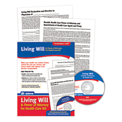Socrates Media Living Will And Power Of Attorney For Healthcare Kit