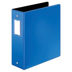 Cardinal(R) EasyOpen(R) Binders, With Premier Locking Round-Ring, 3in. Rings, 60% Recycled, Blue