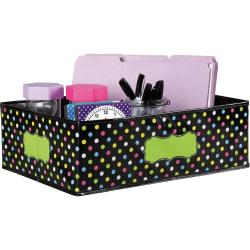 Teacher Created Resources Decorative Storage Bin - 5in. Height x 11in. Width - Multi - 1Each