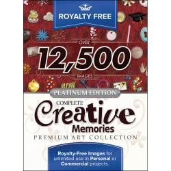 Royalty Free Complete Creative Memories Premium Art Collection - Platinum Edition, Download Version