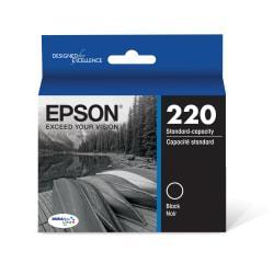 Epson(R) DuraBrite(R) Ultra Ink Cartridge, Black, T220120-S