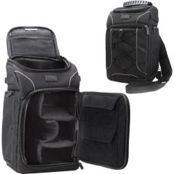 USA Gear GRSLS15100BKEW Carrying Case (Backpack) Camera, Lens, Memory Card, Accessories, Cable, Accessories - Black