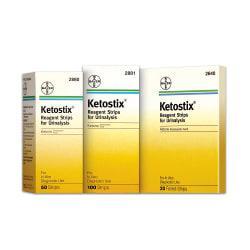 Bayer(R) Ketostix(R) Reagent Strips, Pack Of 100
