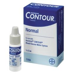 Bayer(R) Contour(R) Normal Control Solution, Low, 2.5 mL