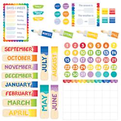 Creative Teaching Press Painted Palette Calendar Set Bulletin Board 4708