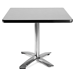 OFM Multipurpose Folding Table, 29 1\/2in.H x 36in.W x 36in.D, Gray