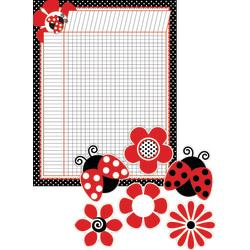 Barker Creek Chart And Accent Set, 5 1/2in. x 22in., Just Dotty