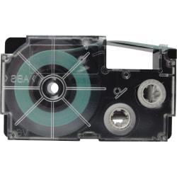 Casio Label Printer Tape - 23/64in. Width x 26 ft Length - Black - 1 Each
