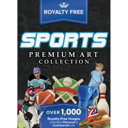 Royalty Free Premium Sports Images for PC, Download Version