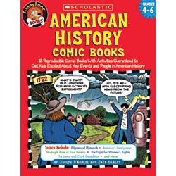 Scholastic American History Comic Books
