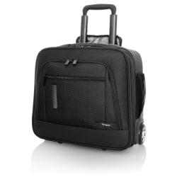 Targus Revolution Compact TBR015US Carrying Case (Roller) for 15.6in. Notebook - Black