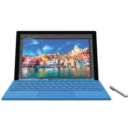 Microsoft(R) Surface Pro 4 Tablet, 12.3in. Full HD Plus Screen, 8GB Memory, 256GB Storage, Windows(R) 10 Pro, Silver