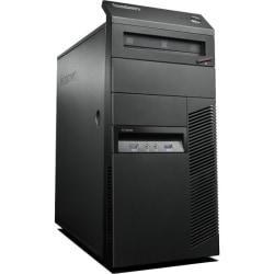 Cheap Video Games Stores Lenovo ThinkCentre M83 10AL000GUS Desktop Computer - Intel Core i7 i7-4770 3.40 GHz - Mini-tower - Business Black