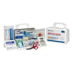 First Aid Only 10-Person Bulk First Aid Kit, 8in.H x 5in.W x 2 3/4in.D