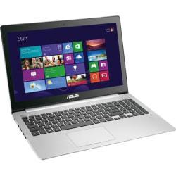 Asus VivoBook V551LA-DH51T 15.6in. Touchscreen Notebook - Intel Core i5 i5-4200U 1.60 GHz - Silver Aluminum