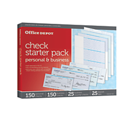 Office Depot(R) Brand Starter Check Refill Pack