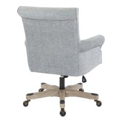 Office Star(TM) Megan Metal/Wood Office Chair, Mist