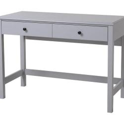 Homestar North America Great Othello Writing Desk, FSC(R) Certified, Gray