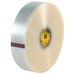 3M(R) 371 Carton Sealing Tape, 3in. x 1,000 Yd., Clear, Case Of 4