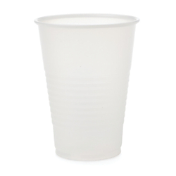 Medline Disposable Plastic Drinking Cups, 7 Oz, Translucent, 100 Cups Per Bag, Case Of 25 Bags