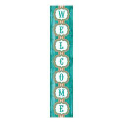 Teacher Created Resources Welcome Banner, Shabby Chic, 8in. x 39in., Multicolor, Pre-K - College