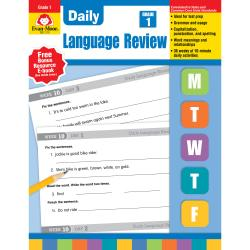 Evan-Moor (R) Daily Language Review, Grade 1