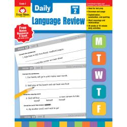 Evan-Moor (R) Daily Language Review, Grade 2