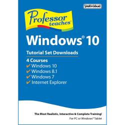 Professor Teaches Windows 10 Tutorial Set Download, Download Version