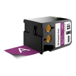 Dymo XTL All-Purpose Vinyl Label Cartridge - 2in. Width x 22 31/32 ft Length - Thermal Transfer - Purple - Vinyl - 1 Each