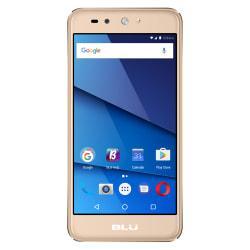 BLU Grand X LTE G0010WW Cell Phone, Gold, PBN201250