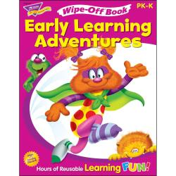 Trend Get Ready For Kindergarten Wipe-off Book Learning Printed Book - Book - 28 Pages
