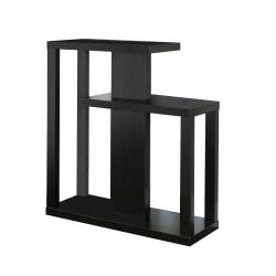 Monarch Specialties Console Table, Staggered, Cappuccino