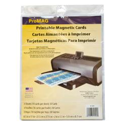 Upc 015377125041 Promag Inkjet Magnetic Business Card Sheets 10