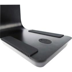 Lorell Dimmer 8-watt LED Desk Lamp - 17.8in. Height - 4.1in. Width - 8 W LED Bulb - Desk Mountable - Black - for Home, Office, School