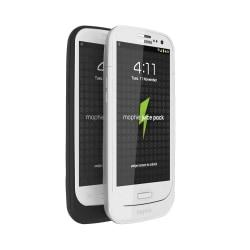 mophie Juice Pack Charging Case For Samsung Galaxy S III, White