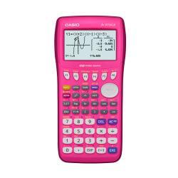 Casio(R) FX9750GII-PK Graphing Calculator, Pink