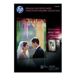HP Premium Plus Photo Paper, Glossy, 11in. x 17in, 11.5 Mil, Pack Of 25 Sheets