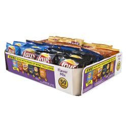 Frito-Lay(R) Flavor Mix Chips Variety Pack, 1 Oz, Pack Of 50 Bags