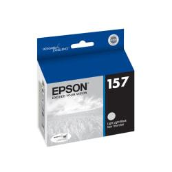 Epson(R) 157, (T157920) Light Light Black Ink Cartridge