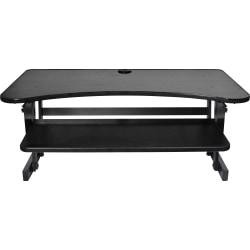 Lorell R Sit To Stand Desk Riser Black Price Tracking