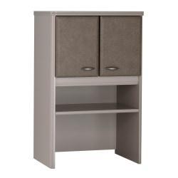 Bush(R) Office Advantage 24in. Storage Hutch, 36 1/2in.H x 23 5/8in.W x 13 7/8in.D, Spectrum/Pewter, Premium Installation Service